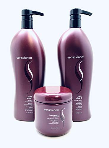 Senscience CPR Step 1&2 Liter Duo & Intensif Masque 16.9 oz Trio/Pumps