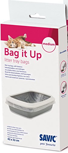 Savic Tasche It Up Müllbeutel für Katzentoiletten, mittel, 42cm