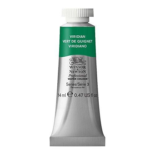 Winsor & Newton Professional Water Colour Paint, 14ml tube, Viridian