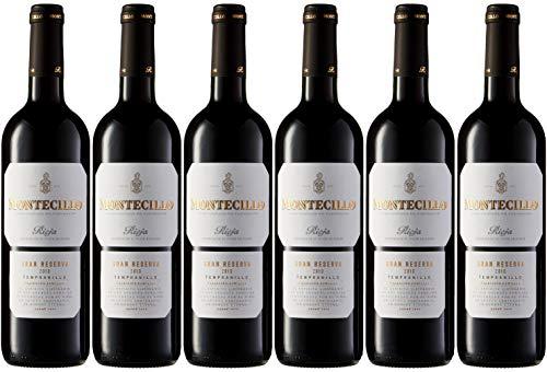 Vino D.O. Rioja Montecillo Gran Reserva - caja de 6 botellas de 750 ml - Total: 4500 ml