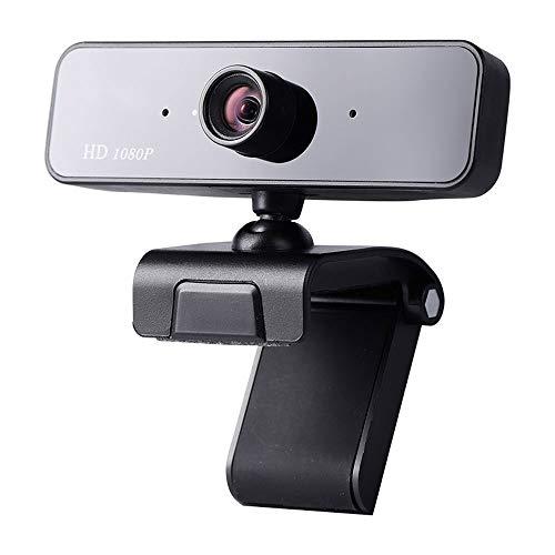 Ftliiyy USB-HD-Webcam Mit Mikrofon, 1080P Computer-Kamera for Laptop Oder Desktop Mit Mikrofon for Live-Teaching-Video-Chat, Web-Kamera for Win7 / Win8 / Win10 / Mac OS X/Linux Für Online Live Klass