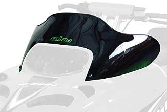 PowerMadd 12323 Cobra Windshield for Arctic Cat ZR 3 - Black - Low height