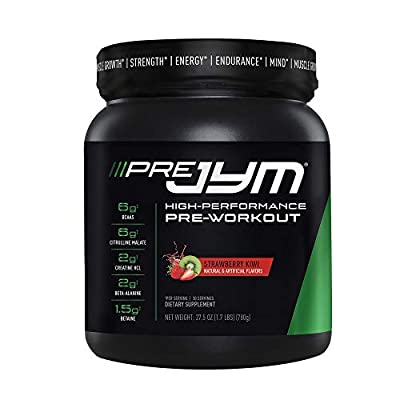 JYM Supplement Science Pre Jym Strawberry Kiwi, 30 Servings, Strawberry Kiwi, 30 Count
