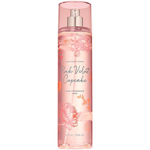 Bath and Body Works Pink Velvet Cupcake Fragrance Mist 8 Fluid Ounce Spray Fall 2019 Collection