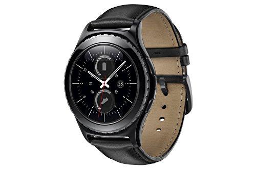 Samsung Gear S2 Classic - Smartwatch (1.2', 512 MB de RAM, memoria interna de 4 GB, Tizen), color negro [Versión importada: Podría presentar problemas de compatibilidad]