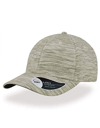 Atlantis Mash-Up - Baseball Cap Grau Light Grey Melange One Size