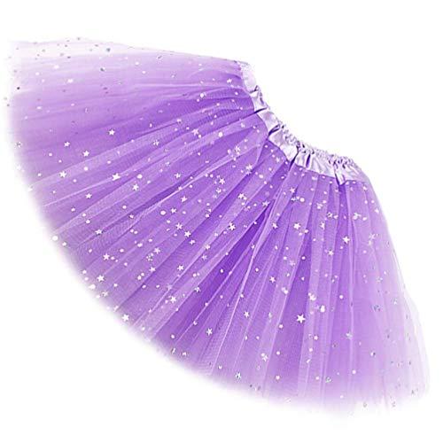 LUCE Rosa Glitter Sparkle Nubilato Principessa Gonna Tutu Costume NUOVO