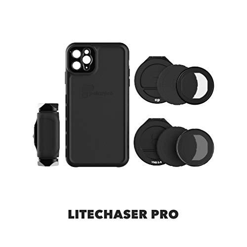 PolarPro LiteChaser Pro Visionary Kit für iPhone 11 Pro Max Schutzhülle + Griff + Polfilter + VND Filter