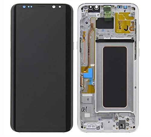 Handyteile24 GH97-20470C - Display Touchscreen per Samsung Galaxy S8 Plus G955F, Grigio