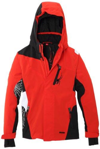 Spyder Jungen Challenger Skijacke 8 Jahre red - Volcano/Black/White