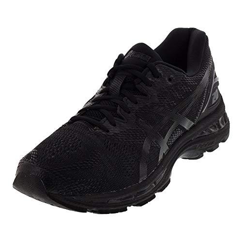 ASICS Gel Nimbus 20 - Zapatillas para correr y senderismo para hombre, Negro (negro/blanco/carbón), 41 EU