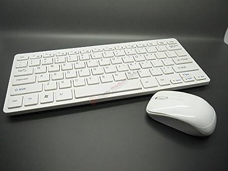 Mini teclado inalámbrico y ratón para Samsung Smart TV UE42 ...