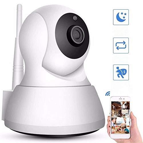 Las cámaras de vigilancia, cámara Inteligente Wi-Fi inalámbrica doméstica, cámara con visión Nocturna/Dos vías de Audio/detección de Movimiento/for Mascotas/Elder/Monitor de bebé Cámara de v