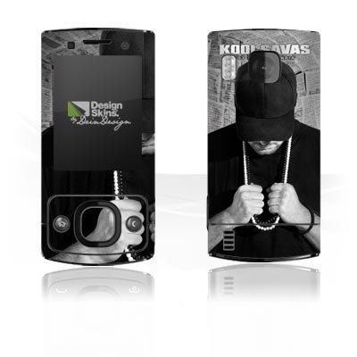 Nokia 6700 Slide Aufkleber Schutz Folie Design Sticker Skin Kool Savas Fanartikel Merchandise Tot oder Lebendig - Album Artwork