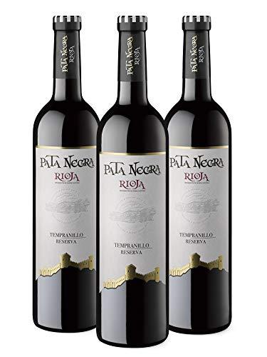Pata Negra Reserva - Vino Tinto D.O Rioja - Caja de 3 Botellas x 750 ml