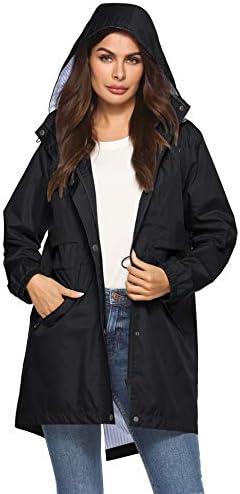 Long black raincoat womens