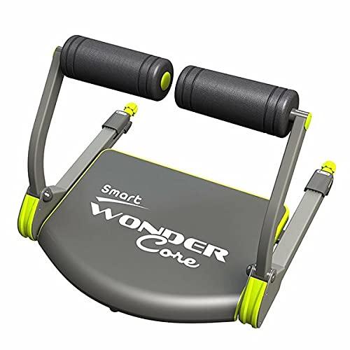 Wonder Core, Aparato de ejercicio, Equipo de entrenamiento fitness, máquina de entrenamiento cardio y musculación, compacto y portátil.