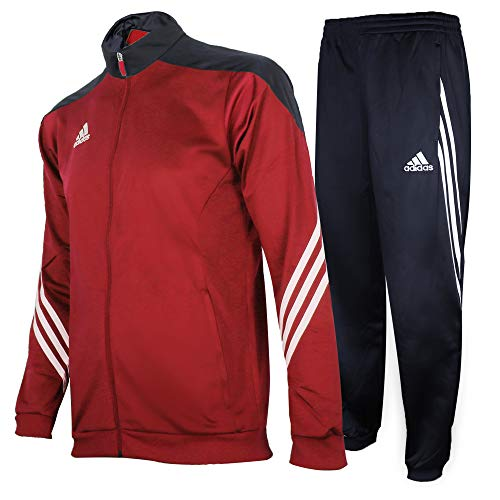 adidas Herren Trainingsanzug Sereno 14 PES, Mehrfarbig (Unired/Black/Wht) , S, D82934