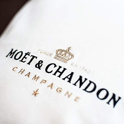 Moet Kissenbezug Moët CHANDON Champagner Cushion Kissen Pillow Almohada Oreiller Cuscino (48 x 48)