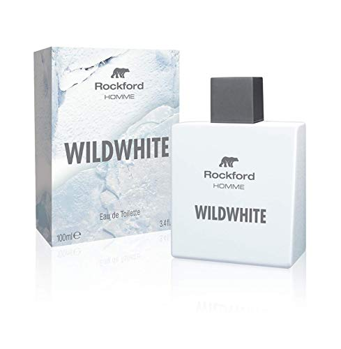 Rockford Wildwhite Eau De Toilette, Profumo da Uomo, Fragranza Fresca e Virile - 100 ml