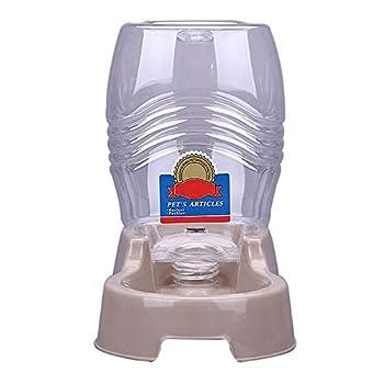 Fancyland Gamelles de Nourriture Distributeurs d'eau Automatique pour Chien Chat Abreuvoir Bouteille d'eau Chiot Animal de Compagnie 2 en 1, pour Petits Chiens de Taille Moyenne Chats.