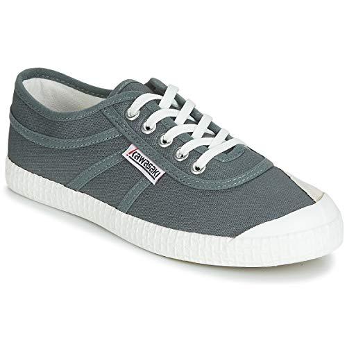 Kawasaki Unisex Orginal Canvas Shoe Green Grey
