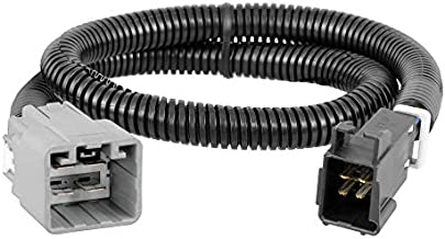 CURT 51458 Quick Plug Electric Trailer Brake Controller Wiring Harness, Select Ram 1500, Classic, 2500, 3500, 4500, 5500