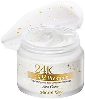 Secret key 24K Gold Premium First Cream 50g/100% Authentic Korea Cosmetic [並行輸入品]