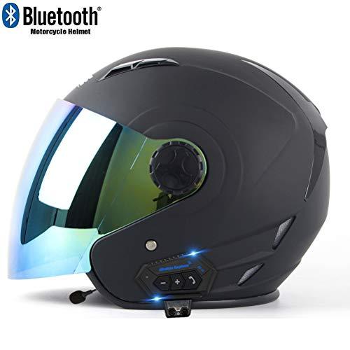 professionnel comparateur Casque de moto Bluetooth MTTKTTBD, casque de moto professionnel avec double visière anti-brouillard… choix
