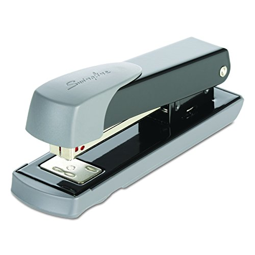 Swingline 71101 Compact Commercial Stapler, Half Strip, 20-Sheet Capacity, Black (S7071101R)