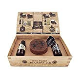 Dear Barber Shave Care Men's Gift Set Collection, Shaving Biscuit 100ml, Shave Oil 30ml & Men's Fragrance 30ml