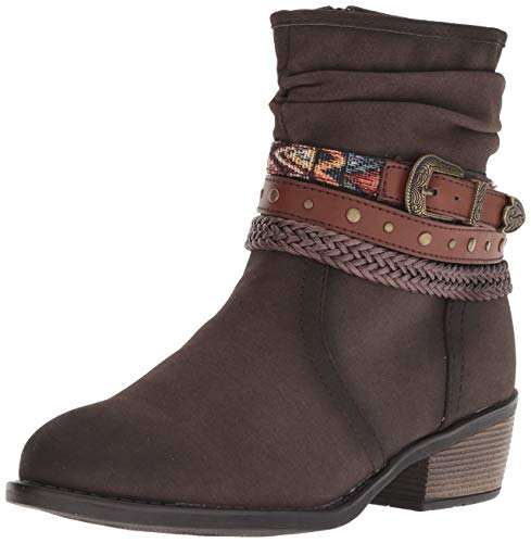 Roper womens Western Ankle Boot, Brown, 10 US