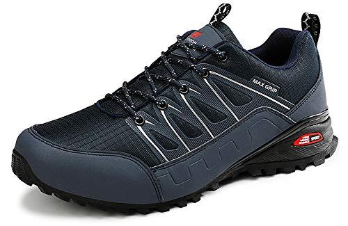 Eagsouni Laufschuhe Herren Damen Traillaufschuhe Sportschuhe Turnschuhe Sneakers Schuhe für Outdoor Fitnessschuhe Joggingschuhe Straßenlaufschuhe, Blau C, 39 EU