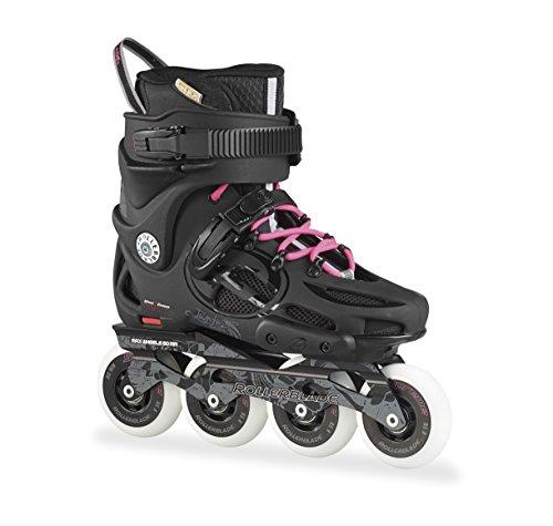 Rollerblade Damen Inlineskate Twister 80 W, Black/Pink, 40.5, 07505500 7Y9