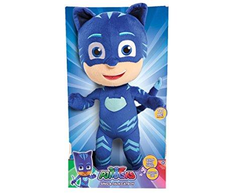 PJ Masks Sing & Talk Catboy Plush, Blue, 14 inches