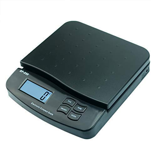 Medición 25 Kg / 55Lb Básculas De Pesaje Paquete Carta Franqueo Correo Postal Báscula Electrónica Digital Peso De Envío Cocina
