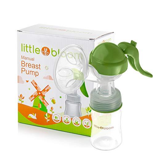 Extractor de leche de Silicona Littlebloom – Extractor leche materna 100% libre...