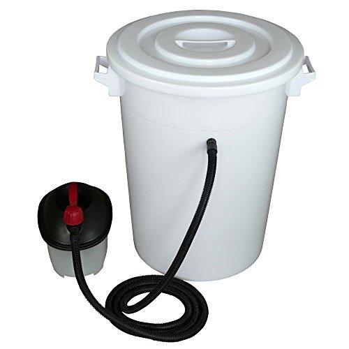 Tolegano Dampfwachsschmelzer mit einem Fassungsvermögen von 100 Liter inkl. Dampferzeuger für den eigenen Wachskreislauf