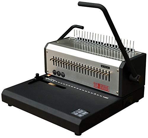 Pavo 8032341 HD Comb Binder Rilegatrice, Grigio