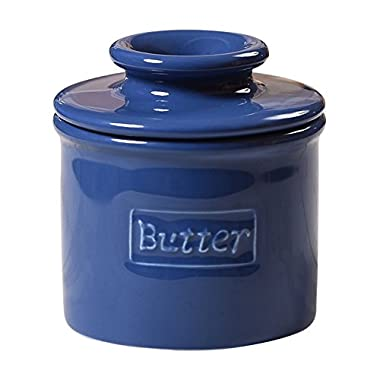 The Original Butter Bell Crock by L. Tremain, Cafe Retro Collection - Royal Blue