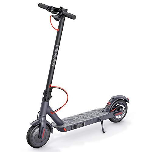 """Macwheel Monopattino Elettrico Pieghevole, Potente Motore da 350W, Batteria 36V/7.5Ah con Autonomia Fino a 28 km, velocità Massima a 25 km/h, 8,5\"""" Pneumatico Airless Antiurto, Scooter per Adulti(MX1)"""