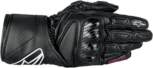 Alpinestars SP-8 STELLA Damen Motorradhandschuh Sport Leder - schwarz Größe DXL