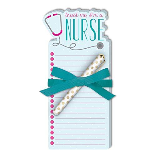 Lady Jayne Nurse Stethoscope Die-Cut Note Pad with Pen (11899)