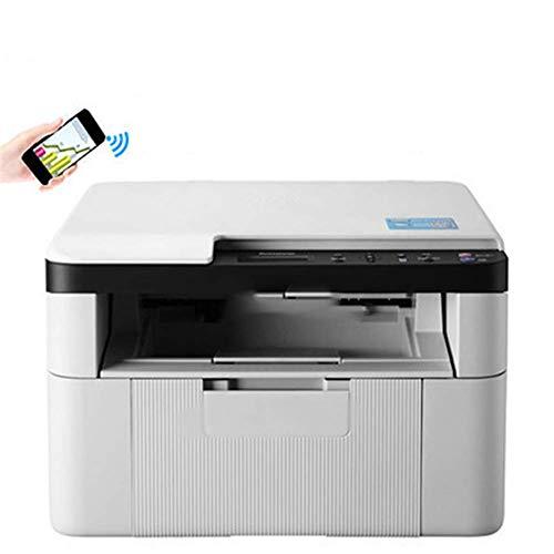 Impresora láser Monocromo, Compacto Todo en uno Impresora, la Impresora multifunción, Redes inalámbricas e impresión dúplex JIAJIAFUDR