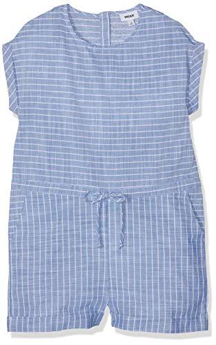 Mexx Mädchen Overall, Blau (Blue Striped 300026), (Herstellergröße: 152)