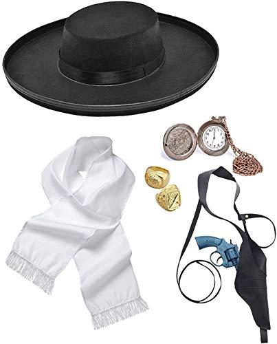 Mega_JumbleSale® Fancy Dress Detective Style Murder Mystery Alfie Solomons...