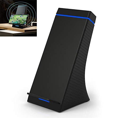 Draadloze Oplader 10W Draadloos Snellaadpad Voor Samsung S6 / S7 / S8 / Note 9 / Note 8, LG NEXUS5 (Zwart)