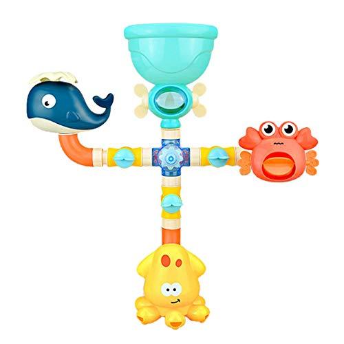 liaobeiotry Summer Bathroom - Juguete de baño para bebé, diseño de cuña con pulpo