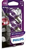 Philips 681453 VisionPlus 60% P21W, 12 V, Set de 2