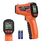 Termometro a Infrarossi,PEAKMETER Termometro laser Digitale Portatile, Pistola per Temperatura Senza...